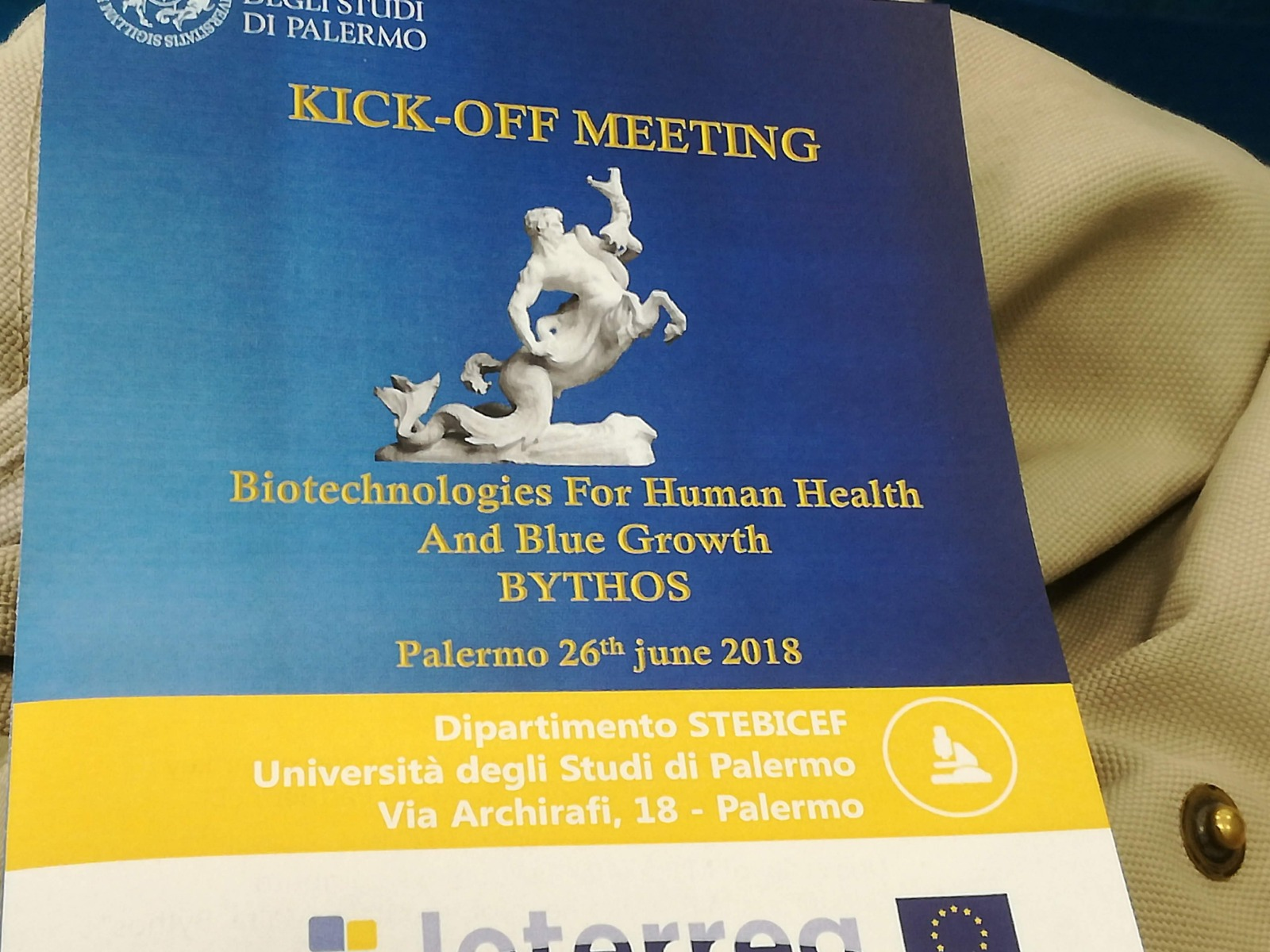 Bythos - Kick-off meeting, Palermo