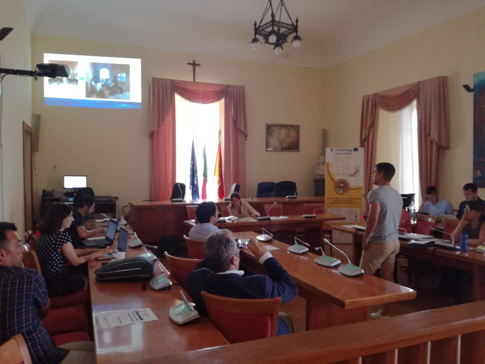 Bythos - Kick-off meeting, Lipari